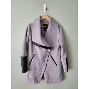 Grey and black fall jacket size large